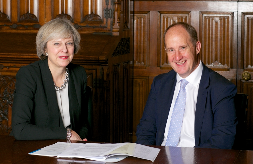 Theresa May & Kevin