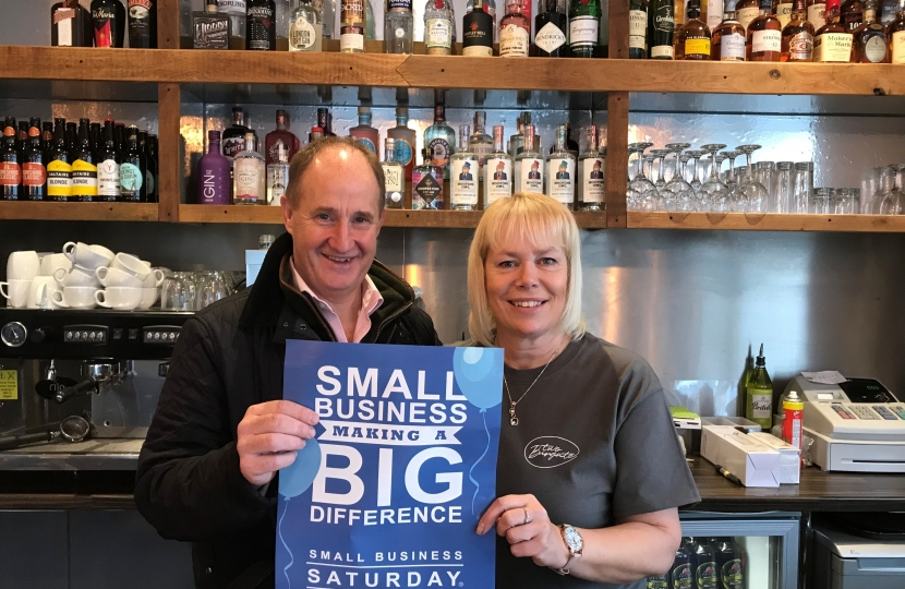 Small Business Saturday - Kevin Hollinrake MP - 2 Burgate
