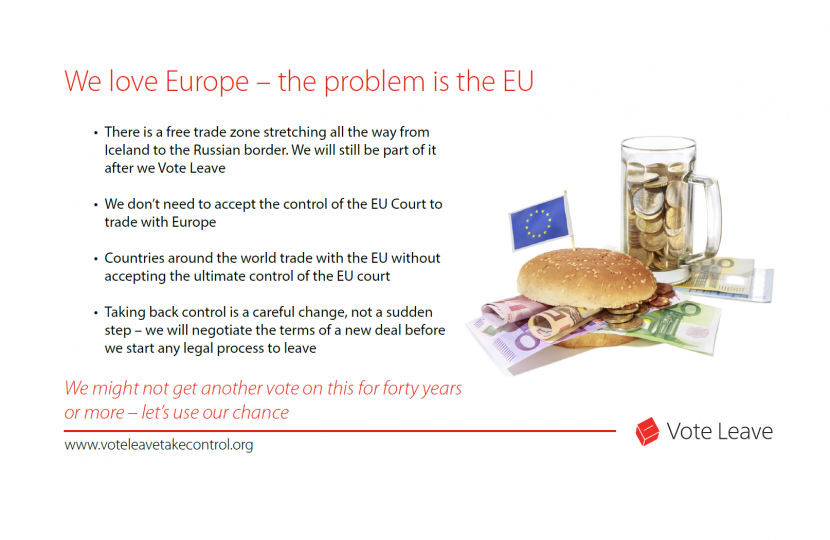 Vote Leave - Why vote to leave