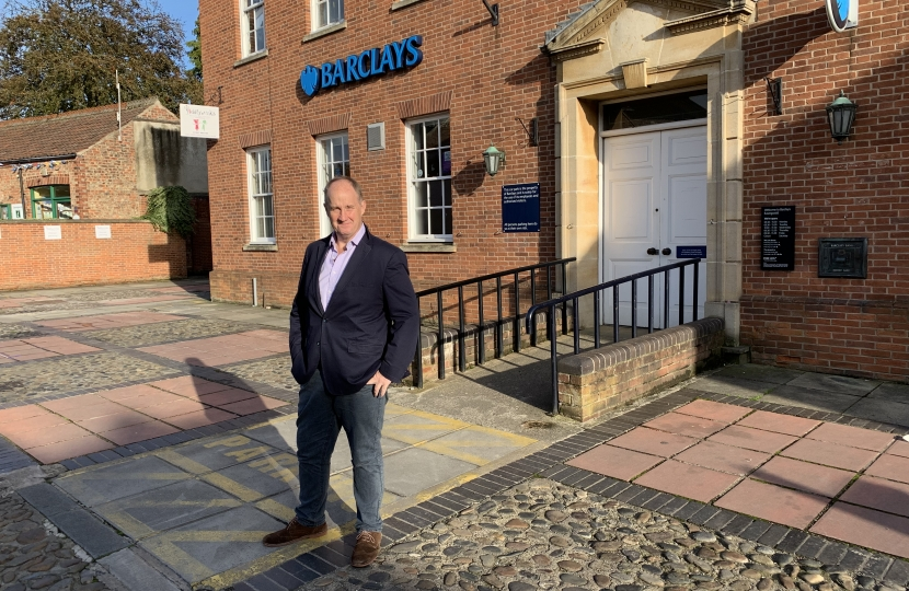 Kevin Hollinrake MP Barclays Easingwold