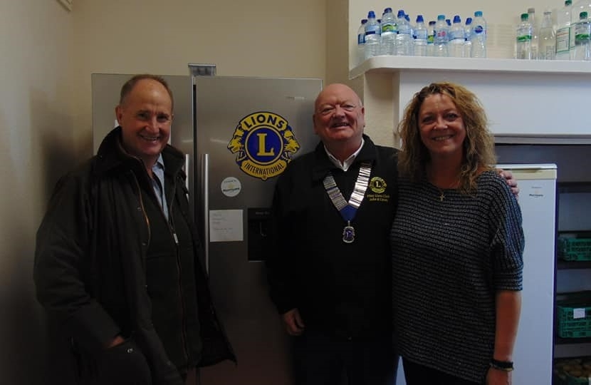 Filey Community Fridge - Kevin Hollinrake MP