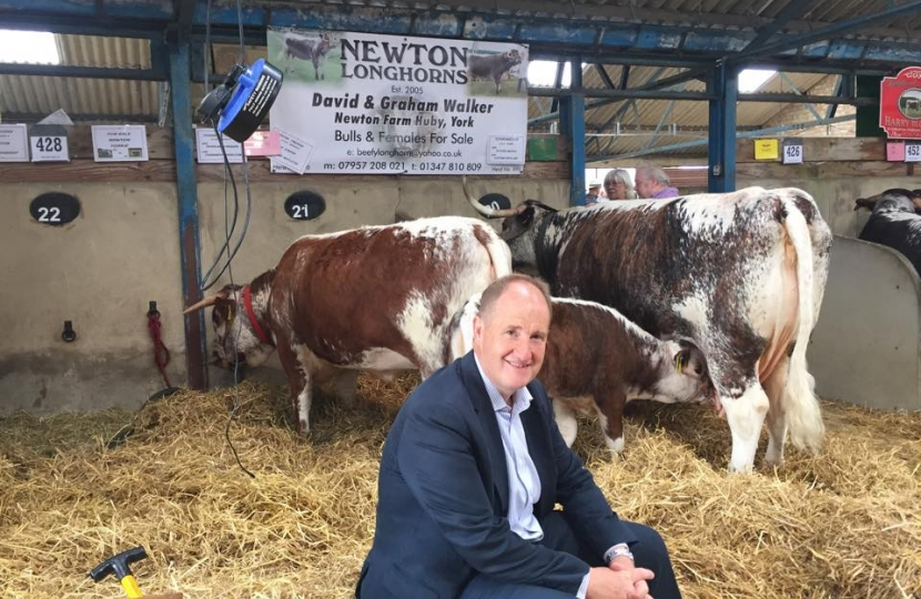 Kevin Hollinrake MP at the Great Yorkshire Show