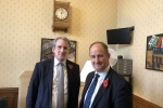 Education Secretary, Rt Hon Damian Hinds MP & Kevin Hollinrake MP